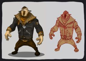biker 3 color by sercantunali by Kravenous