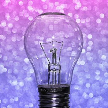 Lightbulb Bokeh by Cute-And-Bright