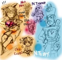 CRB: Crash  Human Style mix by sanada-number09