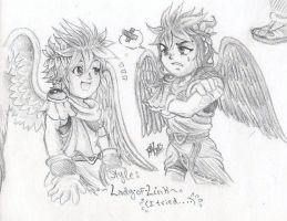 .: Kid Icarus - Lady-of-Link's style :. by PrideAlchemist7
