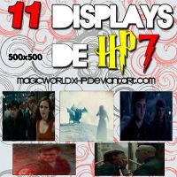 11 Displays de Hp7 by MagicWorldxHp