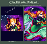 Draw this again! Meme by AmaranthicalRose