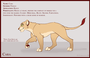 Cara: Reference by CaraLuca