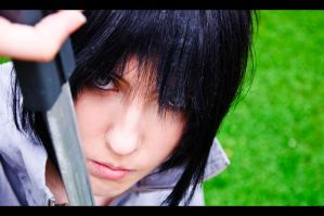 Uchiha Sasuke - Blind fight by Dark-Uke