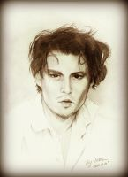 Johnny Depp by LasAngel