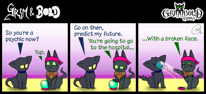Grim and Bold COMIC 029 by JoshArtisticGenius