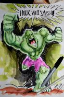 Hulk Will Smash by Noumier