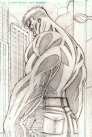 The Incredible Hulk Pencils by CliffEngland