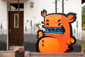 SHAMAN by KIWIE-FAT-MONSTER