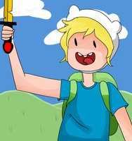 Finn The Human by dannyisaloser