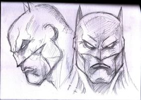 batman head by dushans