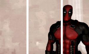 Why Deadpool prefers Blades [GIF] by Iceey23
