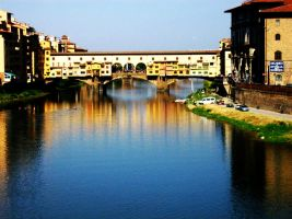 Firenze- Ponte Vecchio by ListenToTheVoid