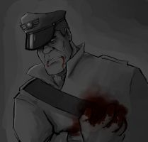 Not A Flesh Wound Anymore by Menaria
