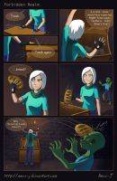 FR Prologue. Page 1 - Millennial bread by Amee-J