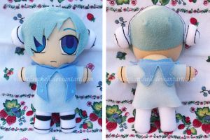 Tales of Graces Lambda plushie by VioletLunchell