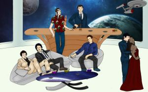 A Star Trek Party by Isilrina