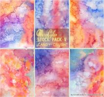 CANDY CRUSH - WATERCOLOR STOCK PACK V by AuroraWienhold