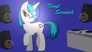 Wallpaper Vinyl Scratch is sexy by Barrfind