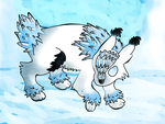 Ice Fox - Yet to be named by DeathPhantom