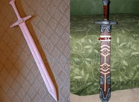 Ordon Sword Progression by thatbloodypirate