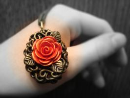 Rose Locket No. 4 by CharpelDesign