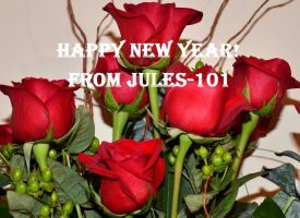 MAIN ROSES- Happy New Year by jules-101