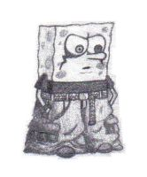Spongebob Gothy Pants by ramsey-darkstar
