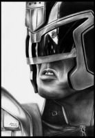 Judge Dredd by foxartsbrazil