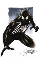 Black Spiderman by Buchemi