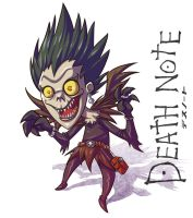 Death Note Ryuk by LoboGio