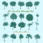 Tree Brushes by silver-