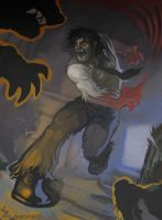 Night of the Werewolves (Bigby Wolf) by ameoname