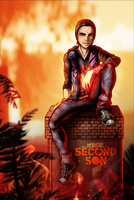 Infamous Second Son - Delsin Rowe by FearEffectInferno