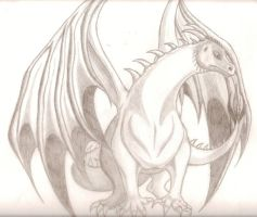 Dragon, like Saphire i think by wallabby