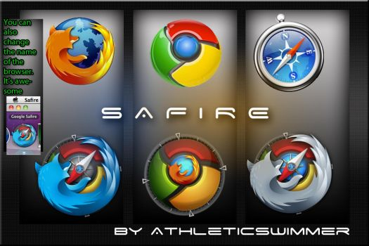 Google Safire ICON BUNDLE by athleticswimmer