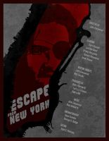 Escape from NY custom Poster by edgarascensao