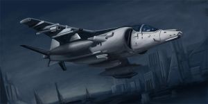 harrier by Gatack