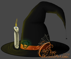 Howrse Witch's Hat by Candrence