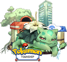 [PokemonTownship] Official Logo by PTS-Admin