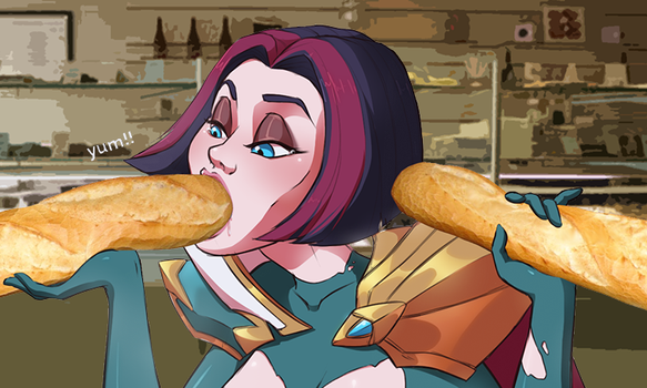 yummy baguettes by bebecake
