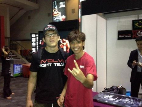 Me with Shinya Aoki by Ravisk