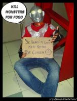 ULTRAMAN cosplay by Giosuke