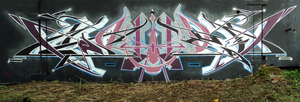 Graffiti. Wator. by Wator