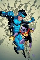 Invincible 52 cover by RyanOttley