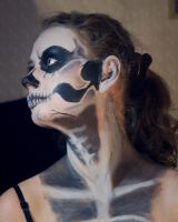 Skull Make-Up Anna by Meariku
