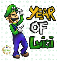 Year Of Luigi  by Kirafrog