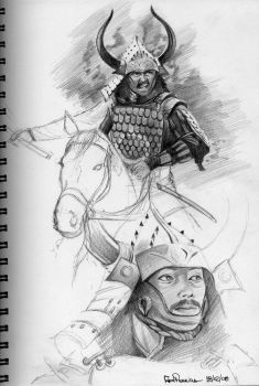 Samurai Sketchs by RodGallery