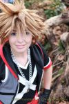 Kingdom Hearts: Dream Drop Distance Sora WIP by VandorWolf