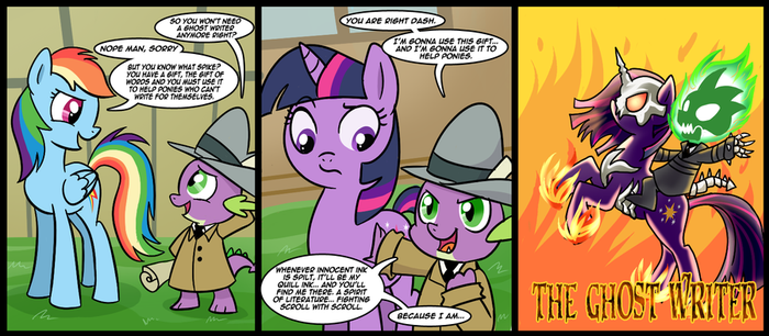 ghost writer by CSImadmax
